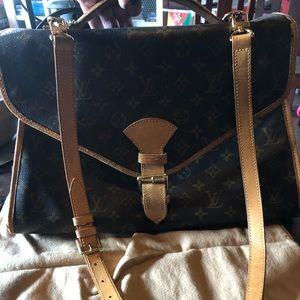 Louis Vuitton Beverly Briefcase Bag